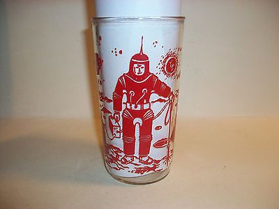 PEANUT-BUTTER-JELLY-GLASS-ASTRONAUTS-SPACE-SHIP-ROCKET-PLANETS-1950s-60s-BOSCUL