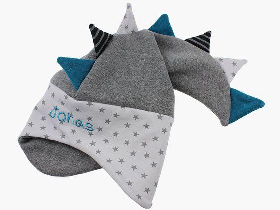 eine coole Winter-Drachenmütze ist in den Onlineshop eingezogen www.bySaM.de
