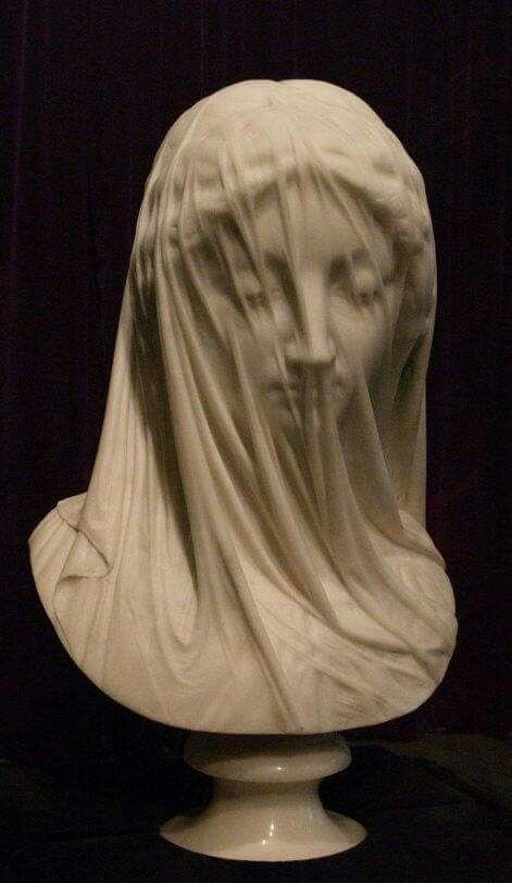 """La """"Virgen con Velo"""" Giovanni Strazza"""