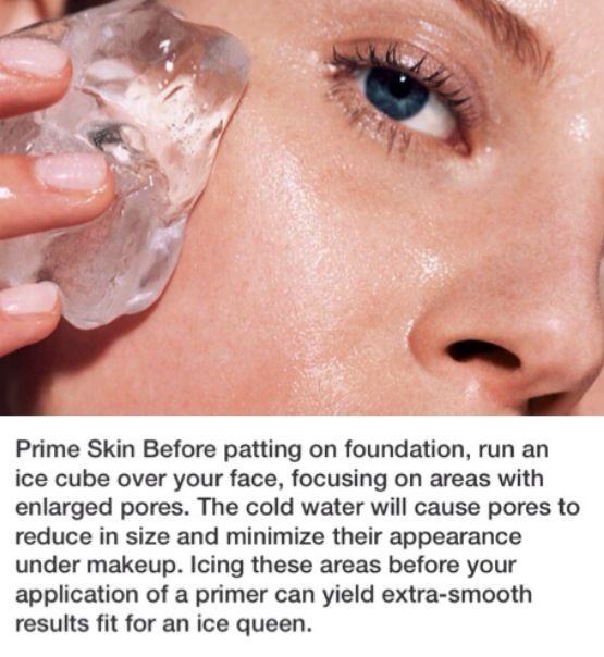 Prime Skin Before Applying Foundation