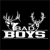 New Custom Screen Printed T-shirt Bad Boys Deer Hunt Small - 4XL