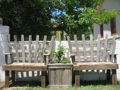 Pallet to bench! This one is neat too!