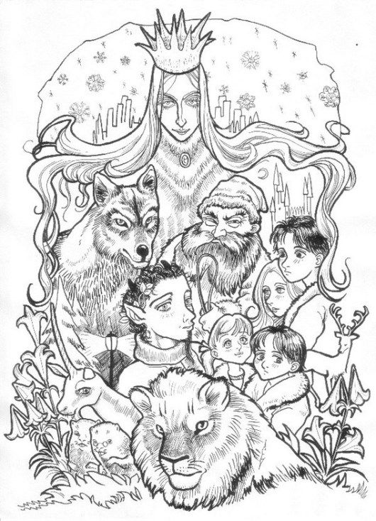 The Chronicles Of Narnia Series Coloring Sheet Lion Witch Wardrobe Lion Coloring Pages Narnia
