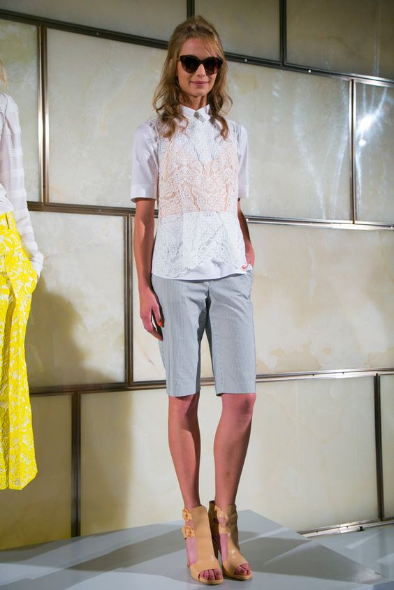 A look from the Veronica Beard Spring 2015 RTW collection.