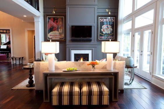 MODERNE LUXUS KONSOLE Ein Wohnzimmer kann viele verschiedene - moderne luxus wohnzimmer