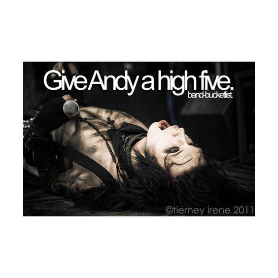 andy biersack | Tumblr ❤ liked on Polyvore