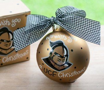 Amazoncom  University of Central Florida We Wish Ornament  UCF