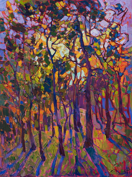 Crystal Pines by Erin Hanson