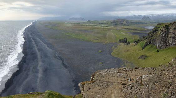 Iceland. Solheimanssandur  #iceland