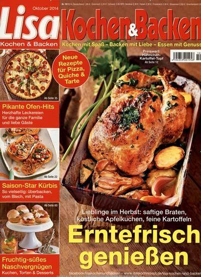 Lisa Kochen & Backen im Abo auf PresseKatalog ist das farbenfrohe Koch- und Backjournal für alle, die gerne mit Spaß kochen, mit Liebe backen und mit Genuss essen. Lisa Kochen & Backen entführt die Leserinnen und Leser in einer neuen und außergewöhnlichen Erlebniswelt.