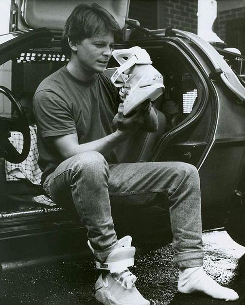 Michael J. Fox retour vers le futur