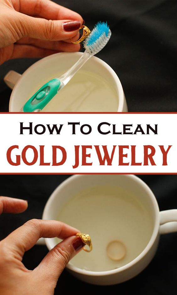 how to clean gold jewelry clean all the things