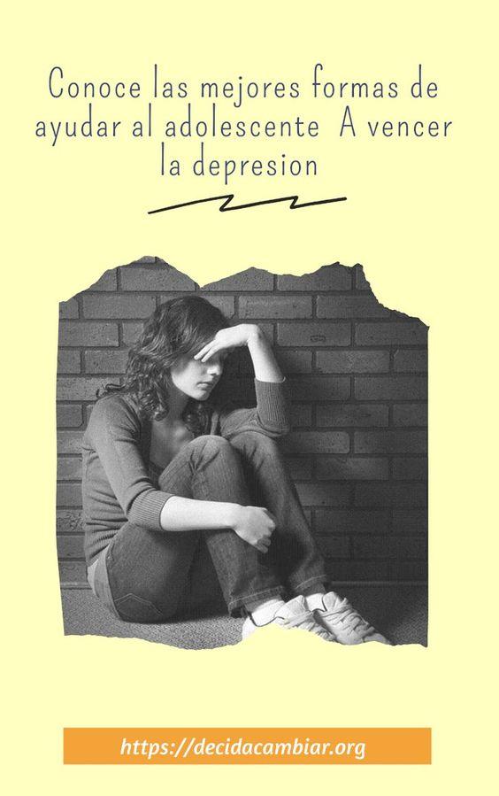 Las 9 mejores formas de ayudar al adolescente a vencer la depresión