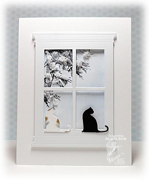 CCC13 - White Christmas by ohmypaper! - Cards and Paper Crafts at Splitcoaststampers