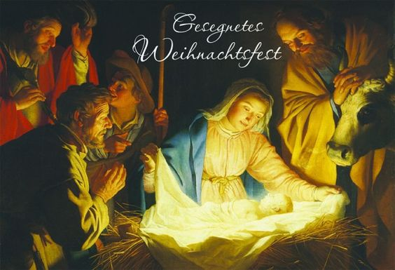 Weihnachtskarte Gesegnetes Weihnachtsfest (6 Stck) 163162