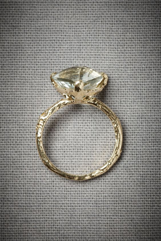 Forest Jewel Ring by Alex Monroe  (aka: Evergreen Hollow Ring at BHLDN)