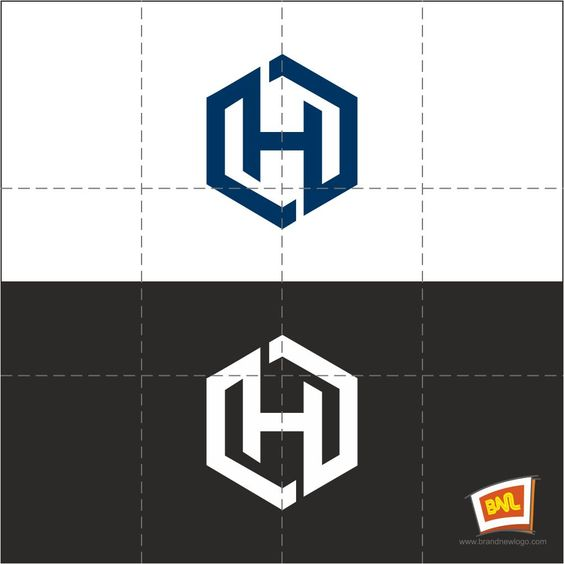 Letter H Vector Logo Impression For Any Business
