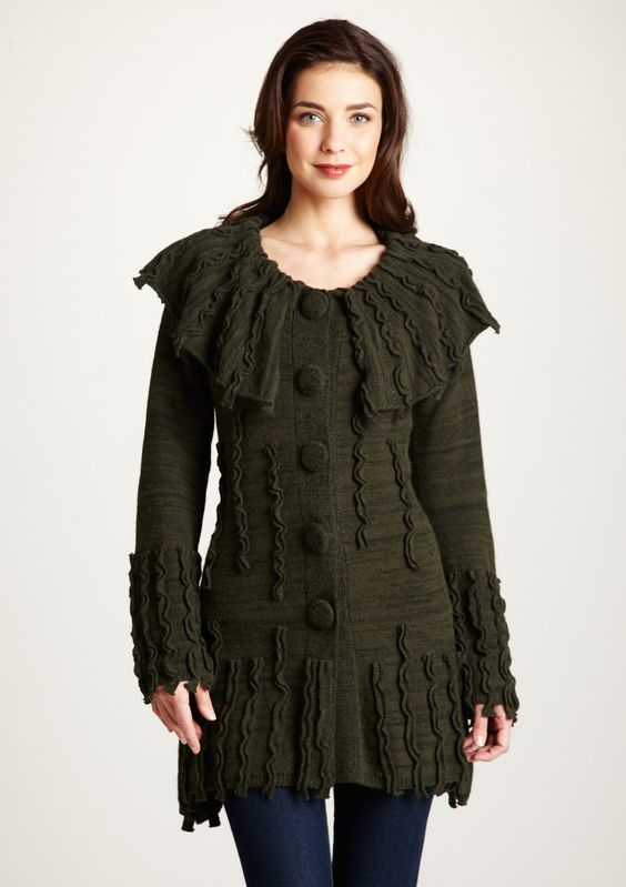 COVELO              Bristol Embellished Cardigan  Other than the color..im digging it