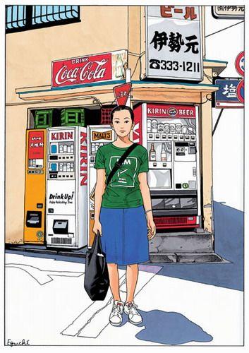 江口寿史のスカート画像