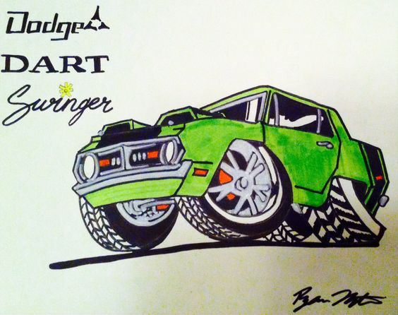 Keep pictures of old 70 dodge swinger car asshole looks scrumdillyumptious