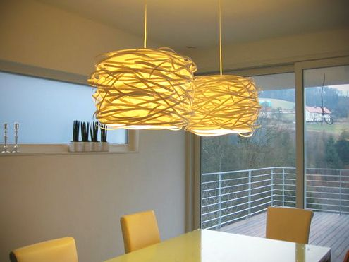 L mparas luces colgantes and dise o con papel on pinterest - Luces decorativas ikea ...