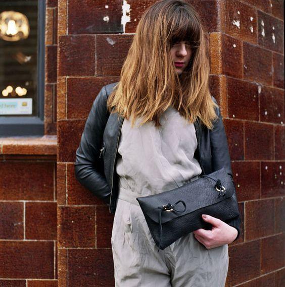 Leather Tool Bag.