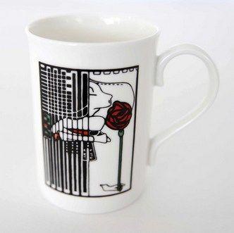 Charles Rennie Makintosh Tea Room mug