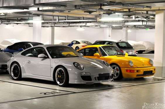 Porsche 997 Sport Classic and Porsche 964 Turbo S by Dylan King Photography