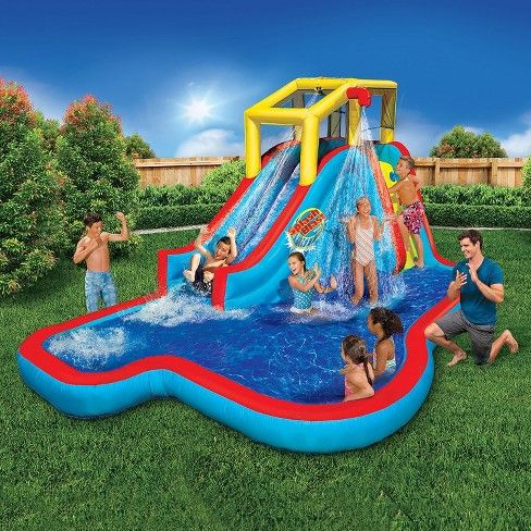 Target Expect More Pay Less Water Slides Inflatable Water Slide Backyard Water Parks