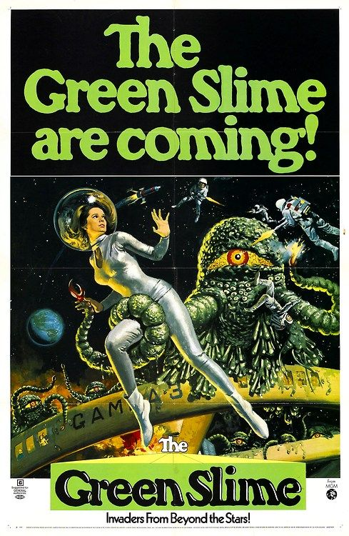 The #Green Slime (1968) #scifi #space