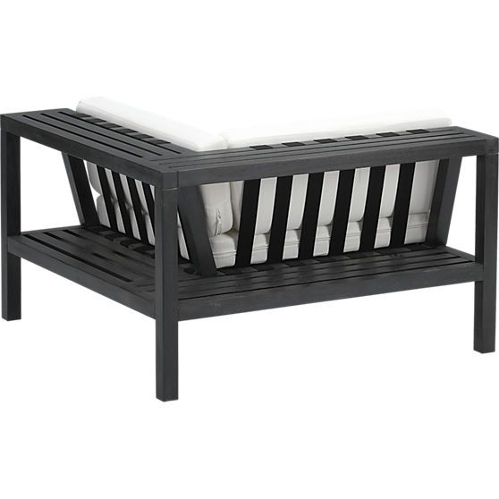 cb2 patio furniture. islita corner chair cb2 outdoor furniture builtin shelf products to consider pinterest clearance shelves and living cb2 patio