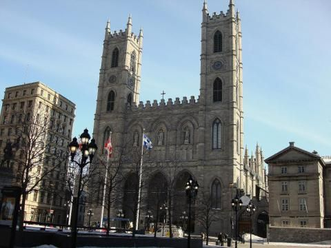 Kanada, Basilika Notre-Dame in Montreal