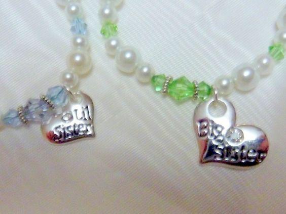 Sisters Bracelets Childs Bracelet Big by JulieButlerCreations, $37.50