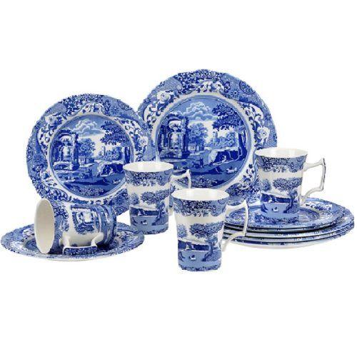 Pin By Ellen Turnbull On China Dinnerware Sets Dinnerware Blue Dinnerware