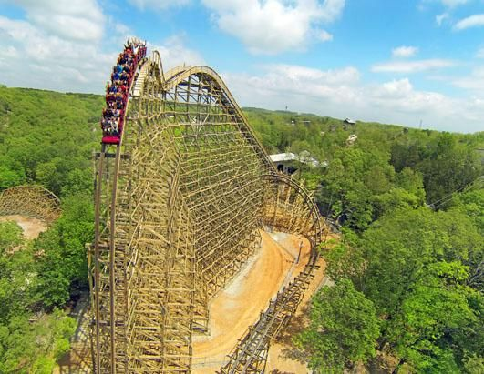 Outlaw Run at Silver Dollar City, Branson, Mo. OMG, can't wait!