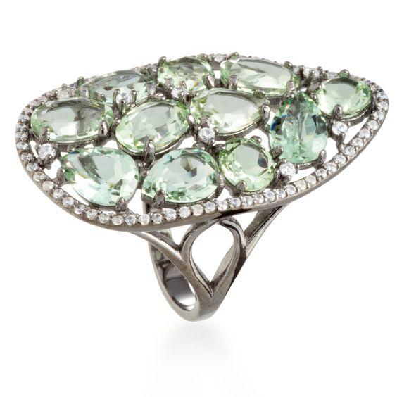 Gayarh ring Andalucite Zircon #LuxenterJoyas #LuxenterSilver