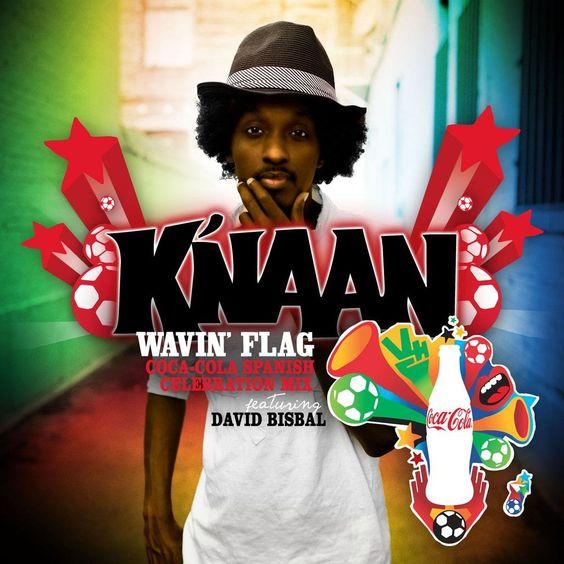 K'naan – Wavin' Flag (single cover art)