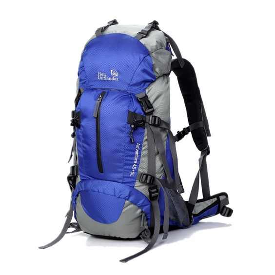 SUNVP 45L 5L Hiking Backpack Outdoor Sport Nylon Water-resistant ...