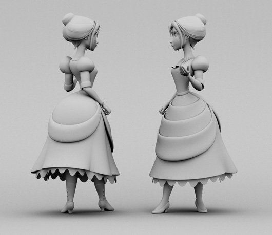 Character Modeling Tutorial In Maya And Zbrush All Cg Tutorials Art Girls Pinterest