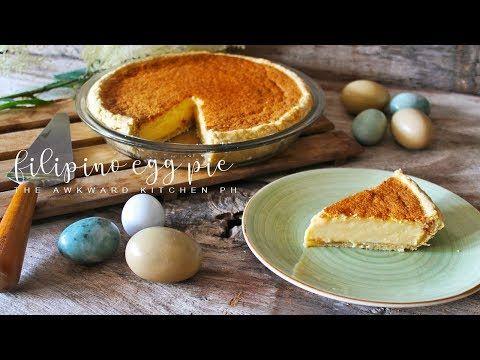 Filipino Egg Pie Recipe Egg Pie W Condensed Milk All Purpose Cream Youtube In 2020 Egg Pie Recipe Filipino Egg Pie Recipes