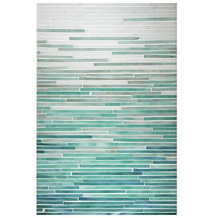 Color: Opal, Aqua, Turquoise, Peacock Topaz. Could be great modern quilt.