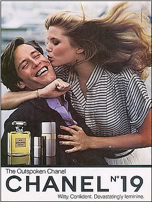 Christie Brinkley for Chanel No. 19, 1979..