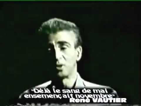 Que reprochait-on à Camus ? L'inexistence des Algériens dans ses écrits. D'être contre l'indépendance de l'Algérie, etc, etc.
