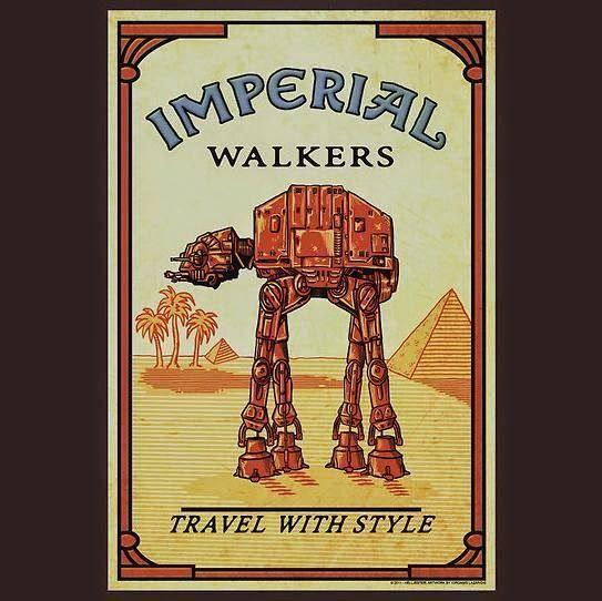 Imperial Walkers.