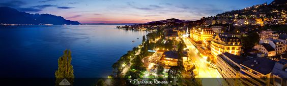 Montreux Riviera, Switzerland - Chamelle Photography
