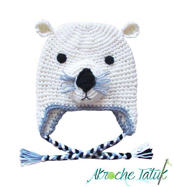 Tuque loutre / Lotter crochet hat
