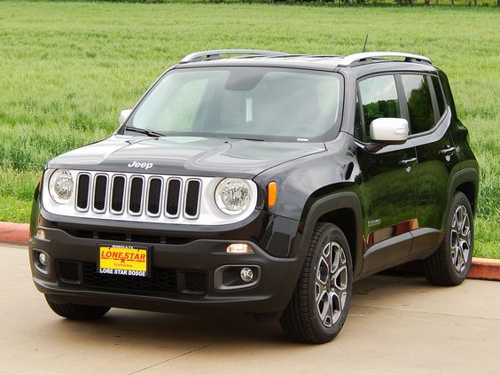 2015 Jeep Renegade Limited with black leather trimmed ...