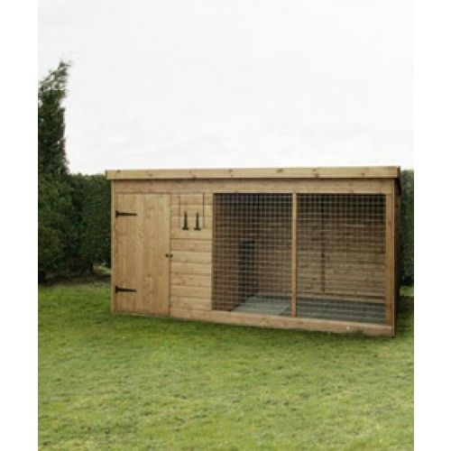 The Dog Kennel Run 10 X 4 Shiplap Dog Kennel Dog Kennel Outdoor Kennel Ideas Outdoor