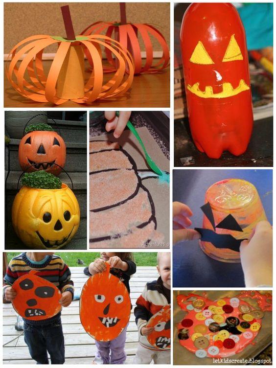 Preschool Pumpkin Crafts