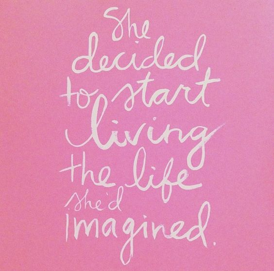 Start living the life that you have always dreamed... NOW.